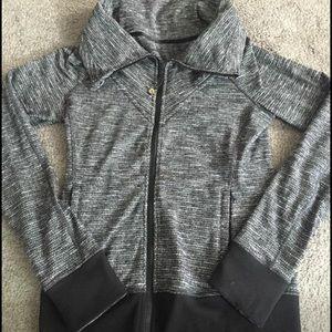 Lululemon High Neck Full Zip Sweater